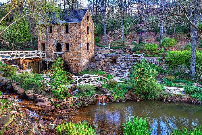#5 The Old Mill - Little Rock, Arkansas
