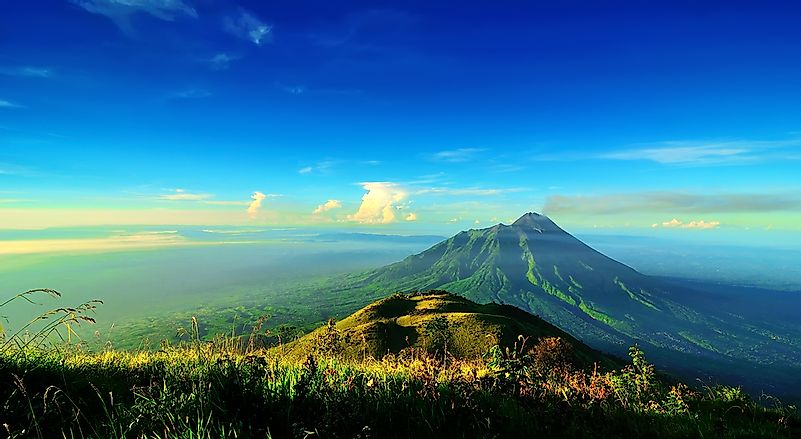 #8 Mount Merapi - a Very Active Volcano in Indonesia