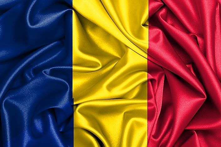 This flag could pass both as the flag of Romania or the flag of Chad.