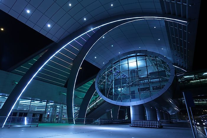 #6 Dubai International Airport - 70.5 Million Passengers - The Busiest Airport in the World