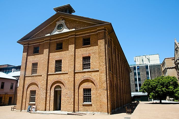 #3 Hyde Park Barracks (Sydney, New South Wales)