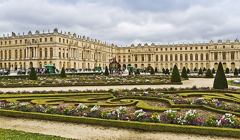 #4 Palace of Versailles; Versailles, France