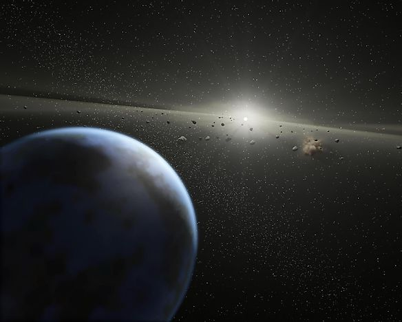 Biggest Asteroid Impacts In Earth's History - WorldAtlas com