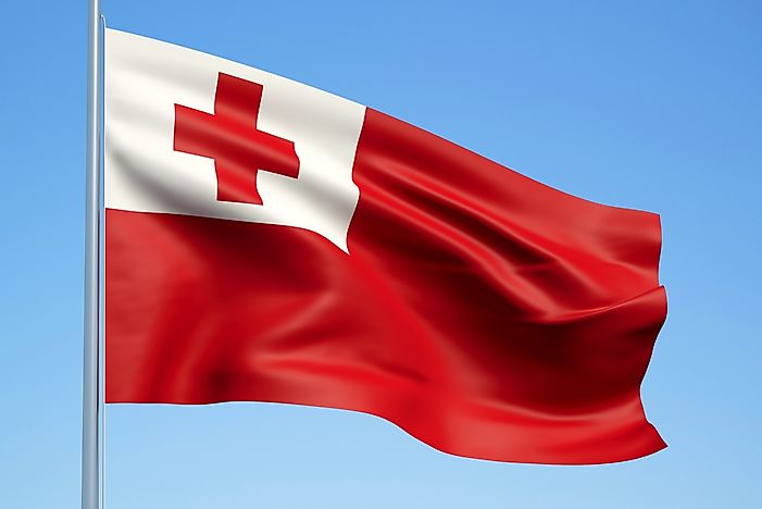 What Do the Colors and Symbols of the Flag of Tonga Mean?