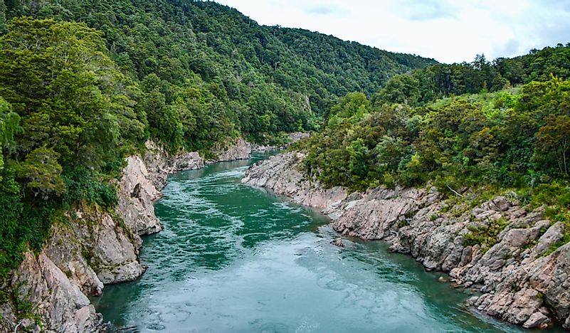 Longest Rivers in New Zealand