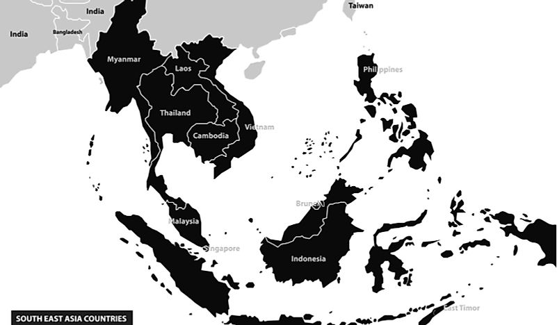 #2 Southeast Asia  (Brunei, Cambodia, Indonesia, Laos, Malaysia, Myanmar, Philippines, Singapore, Thailand, Timor Lester, Vietnam, Christmas Island, Cocos Islands)