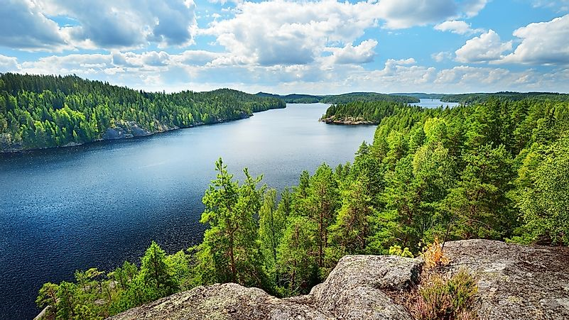 The 10 Largest Lakes in Finland