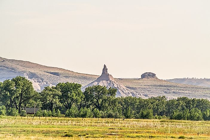 #7 Chimney Rock - Morrill County, Nebraska