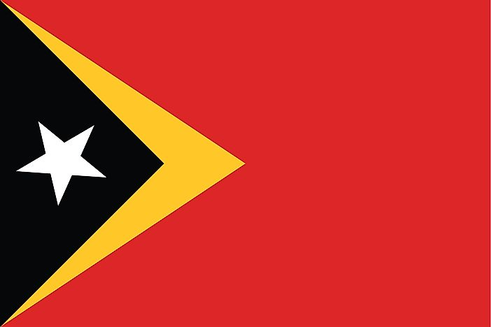 What Do the Colors and Symbols of the Flag of East Timor Mean?