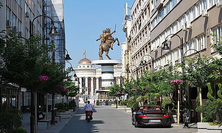 Which Are The Biggest Cities In Macedonia?