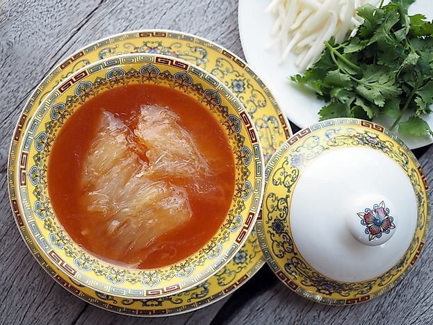 What is Shark Fin Soup?