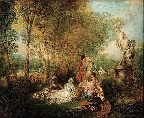 What Was The Rococo Art Movement?