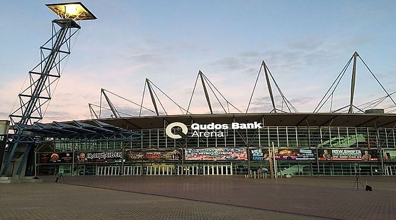 The Largest Indoor Arenas In Australia By Seating Capacity