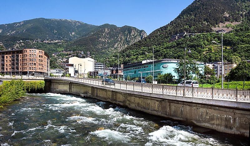 Major Rivers of Andorra