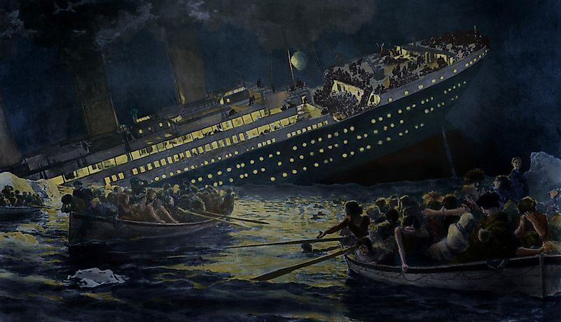 When Did the Titanic Sink? - WorldAtlas com