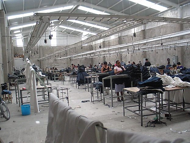 Maquiladora Factories Of Mexico