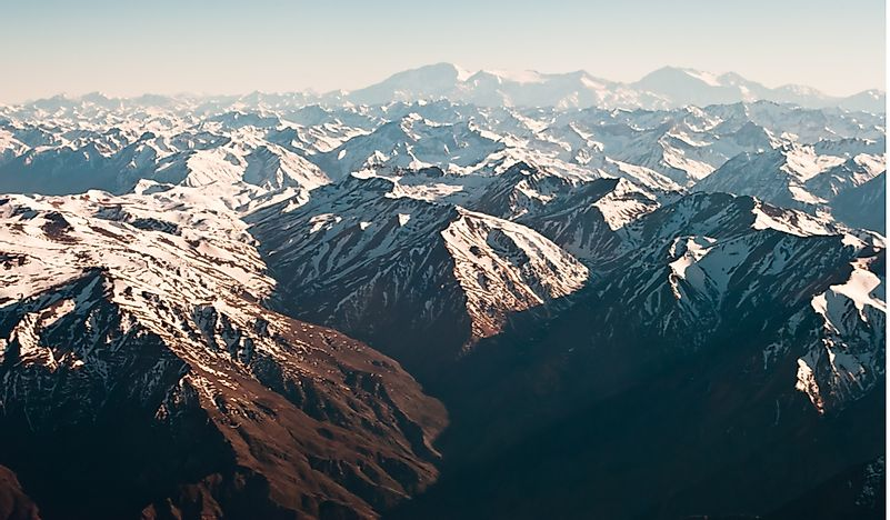 Where Are The Andes Mountains? - WorldAtlas.com
