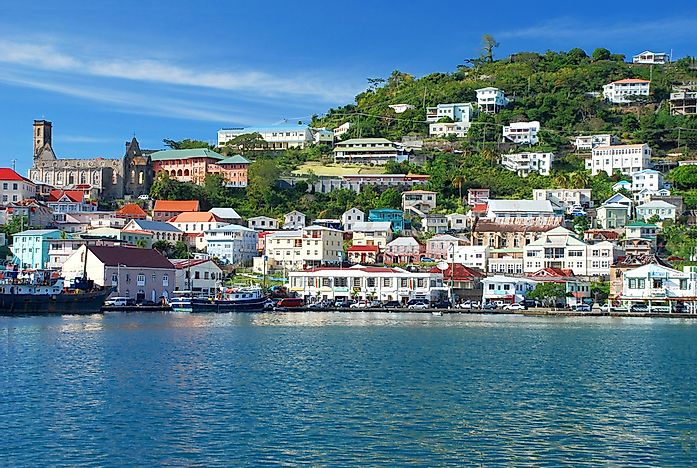what is the capital of grenada worldatlas com
