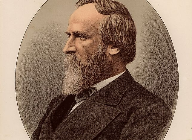 Rutherford B. Hayes, 19th President Of The United States