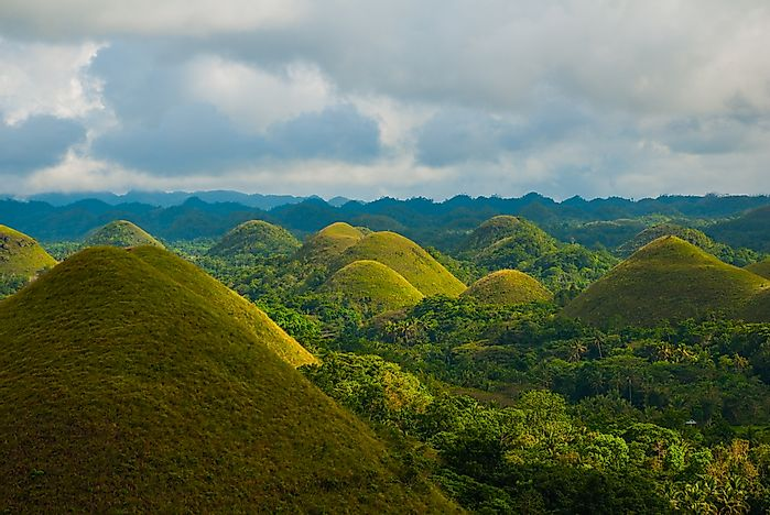 Where are the Chocolate Hills?