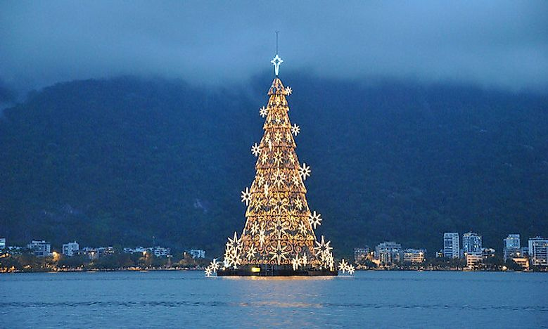 Christmas Trees With Guinness World Records - WorldAtlas.com