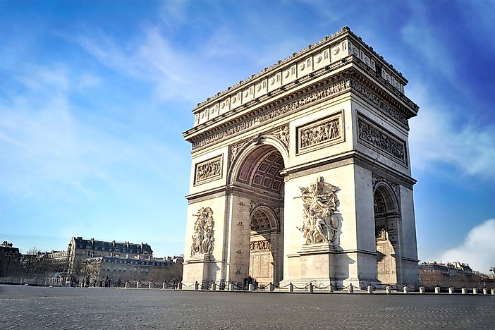 Architectural Monuments of the World: Arc de Triomphe ...