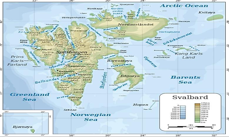 Svalbard Islands WorldAtlascom