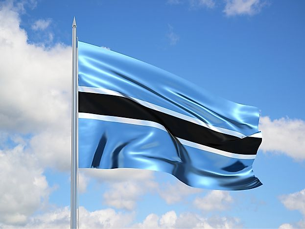 What Do the Colors and Symbols of the Flag of Botswana Mean?