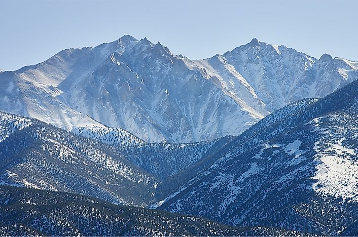 The 10 Highest Summits in Nevada