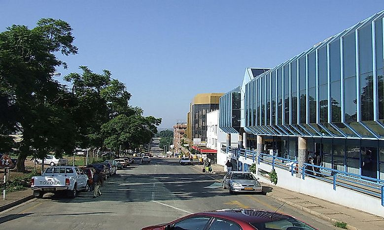 Which Are The Biggest Cities/Towns In Swaziland?