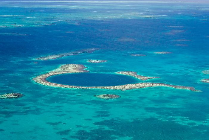 Great Blue Hole, Belize - Unique Places around the World