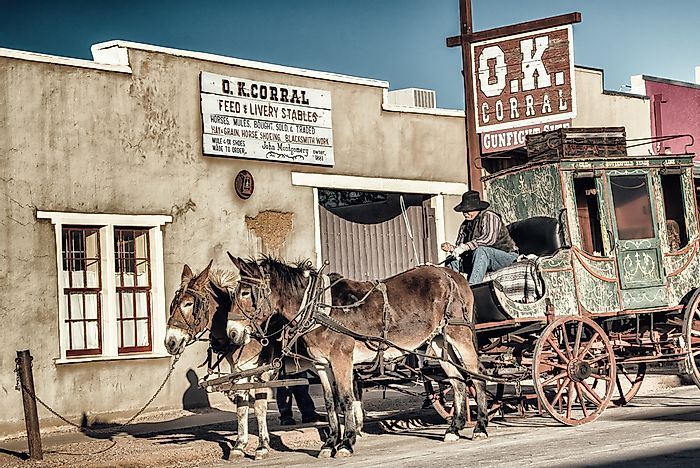 Gunfight at the O.K. Corral and Other Famous American Old West Gunfights