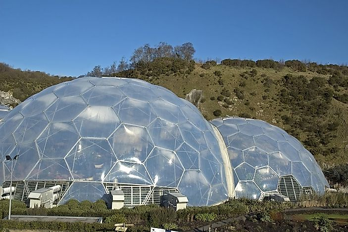 The Eden Project: Home Of The World's Largest Greenhouse Endeavor