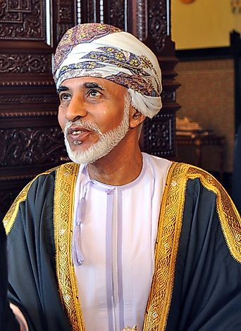 #6 Qaboos bin Said al Said of Oman - 45 Years, 182 Days