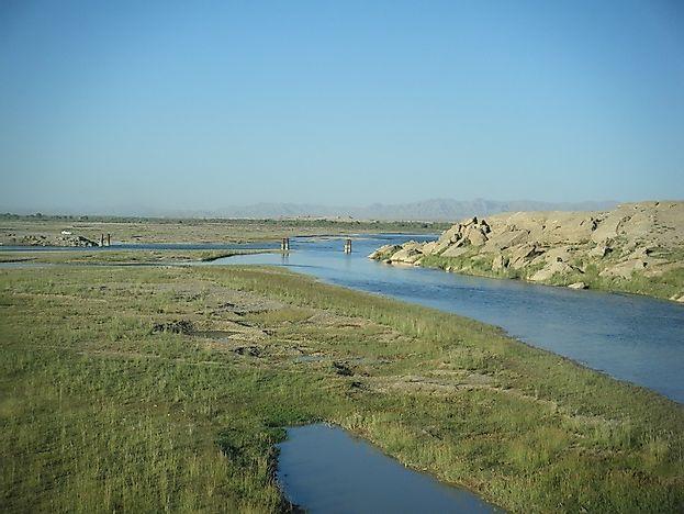 Longest Rivers In Afghanistan WorldAtlascom - Longest river in the united states