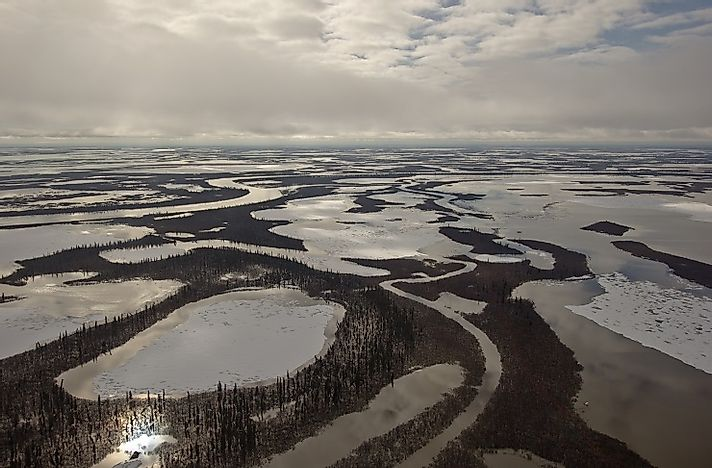 Where is the Mackenzie River?