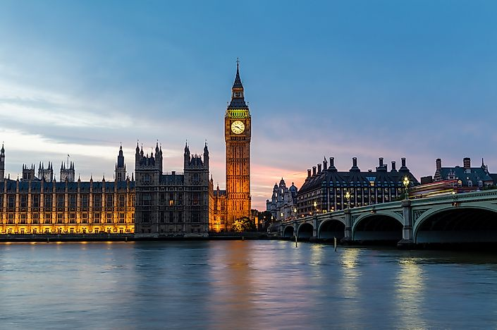 #7 Palace of Westminster