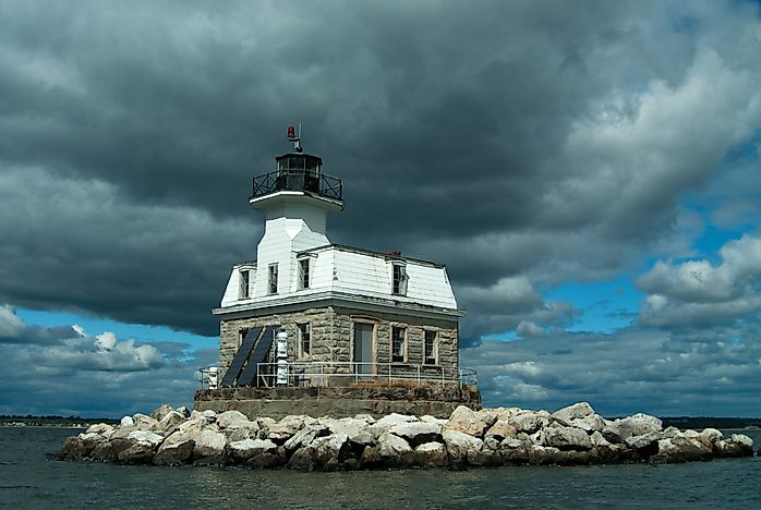 #5 Penfield Reef Light - 1874
