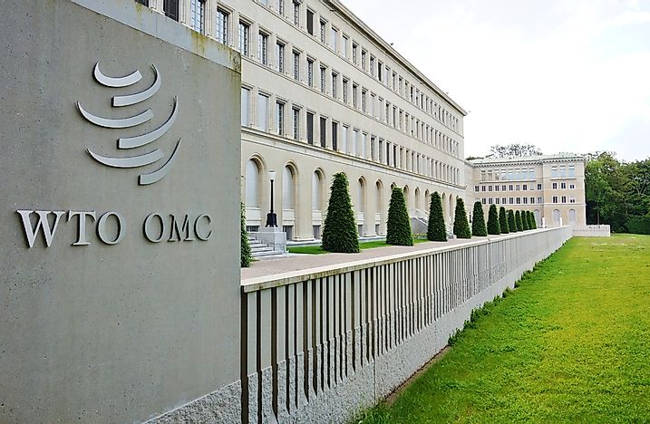 Where Is The Headquarters Of The World Trade Organization Located?