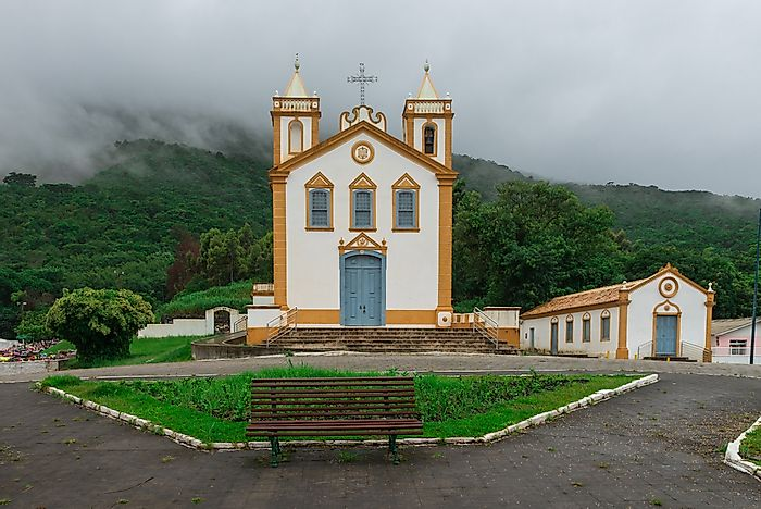 A church in Florianopolis, Brazil.