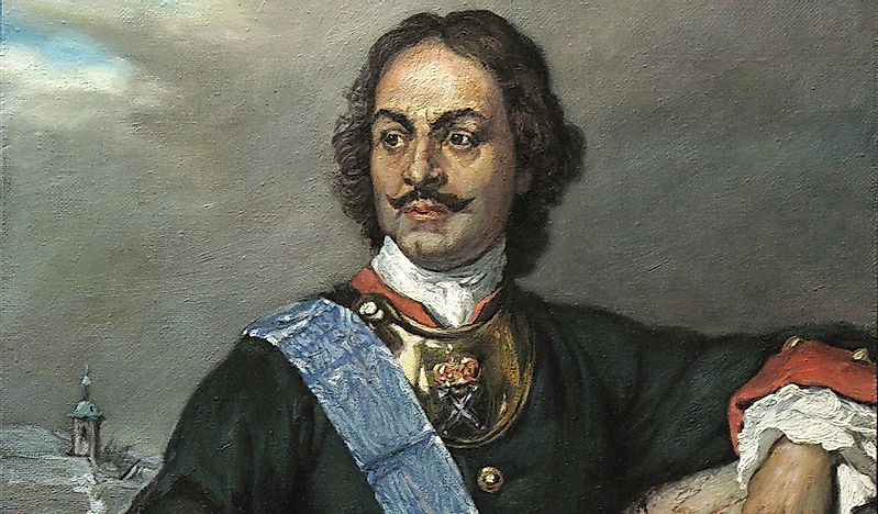 an analysis of the life and accomplishments of peter the great a russian tsar As the father of modern russia, peter the great has inspired dozens of oil  of a  series of miniatures from an illuminated 18th-century biography of peter the great   peter visits his mother before setting out on his great european expedition.