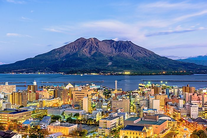 #3 Mount Sakurajima - the Volcano That Created a Peninsula