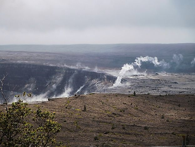 #6 Mount Kilauea - a Hawaiian Volcano That Is One of the World's Most Active