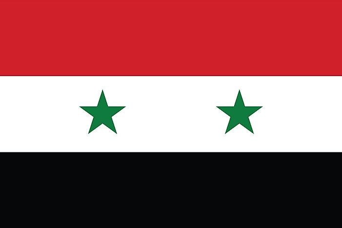 What Do The Colors And Symbols Of The Flag Of Syria Mean?