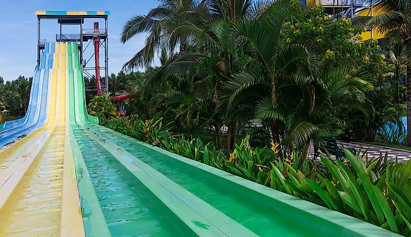 The World's Tallest Waterslides