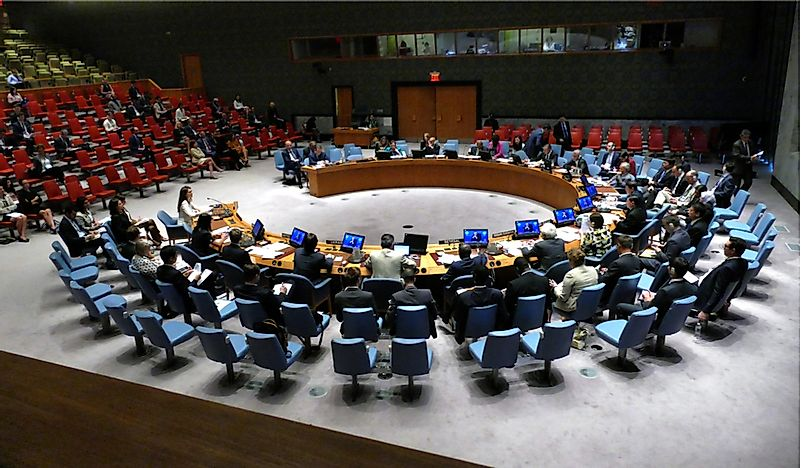 The Five Permanent Members of the UN Security Council