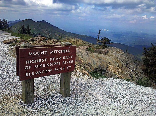 The Highest Mountains In The Appalachians Worldatlas Com