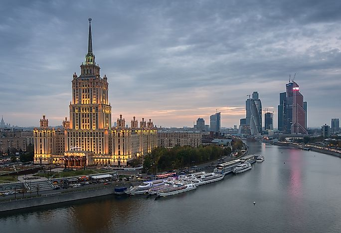 the seven sisters of moscow