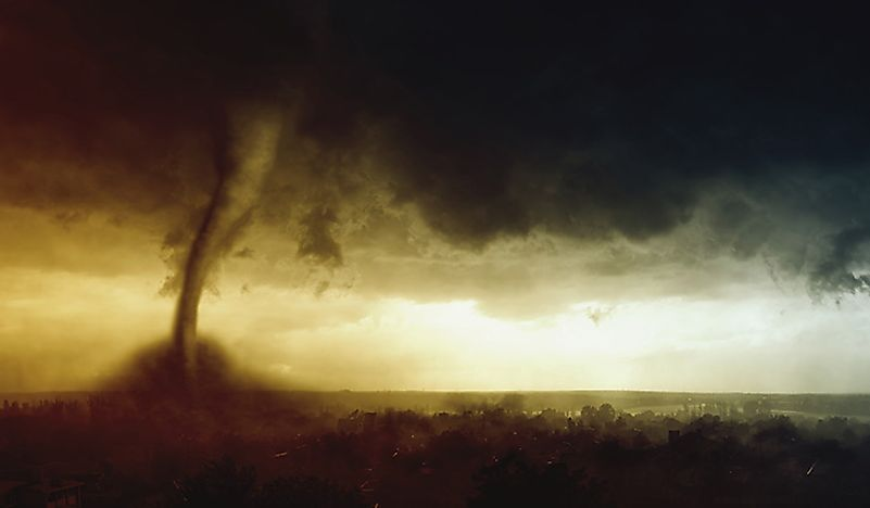 Tornado Alley: The Most Tornado Prone Region in the World.