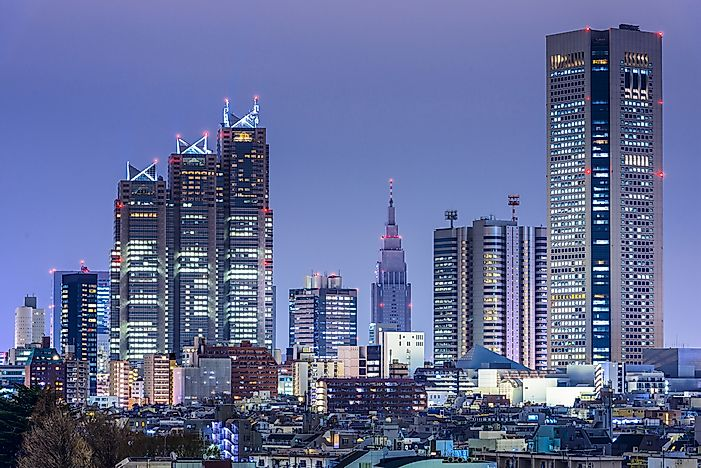 Tokyo, Japan, is the largest cit yin the world by population.